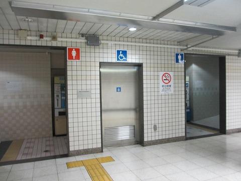 地下鉄南北線飯田橋駅のトイレ